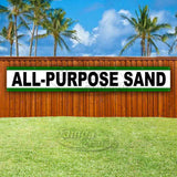 All-Purpose Sand XL Banner