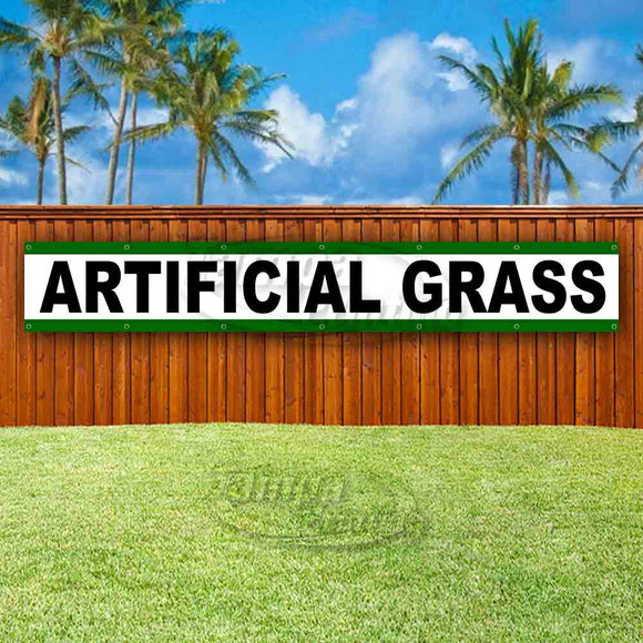 Artificial Grass XL Banner