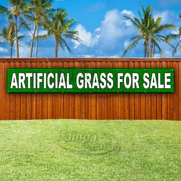 Artificial Grass For Sale XL Banner