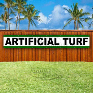 Artificial Turf XL Banner