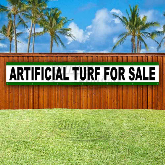 Artificial Turf For Sale XL Banner