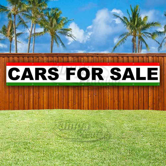 Cars For Sale XL Banner