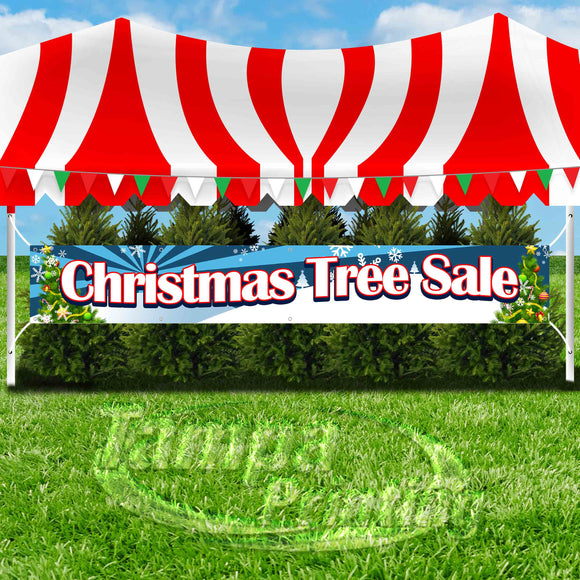 Christmas Tree Sale XL Banner