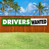 Drivers Wanted XL Banner