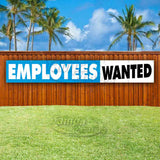 Employees Wanted XL Banner