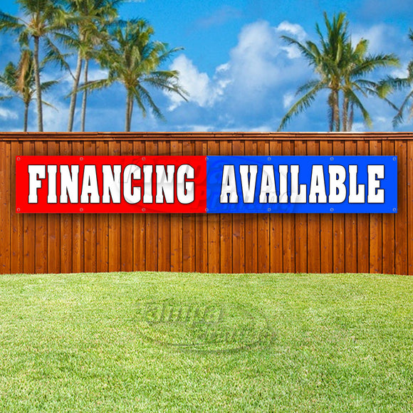 Financing Available XL Banner