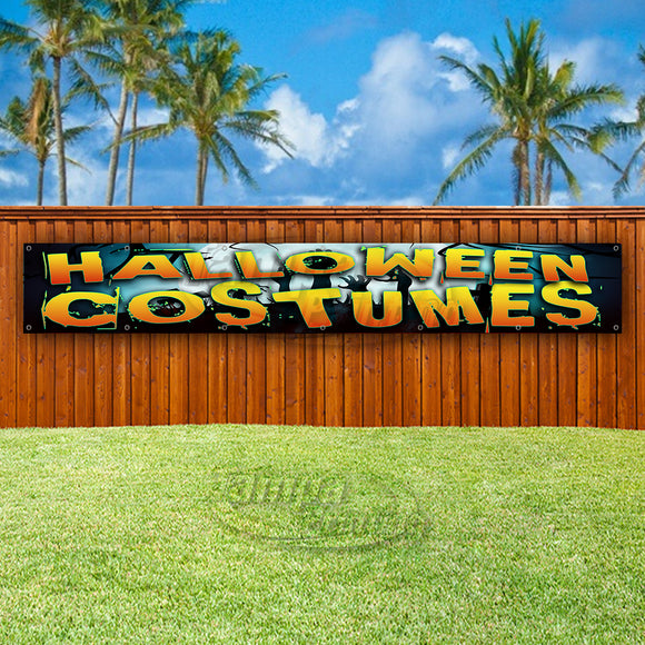 Halloween Costumes XL Banner