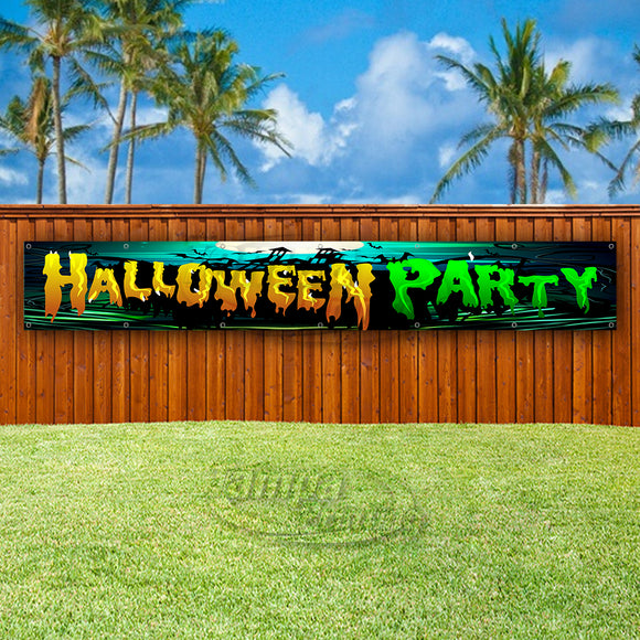 Halloween Party XL Banner