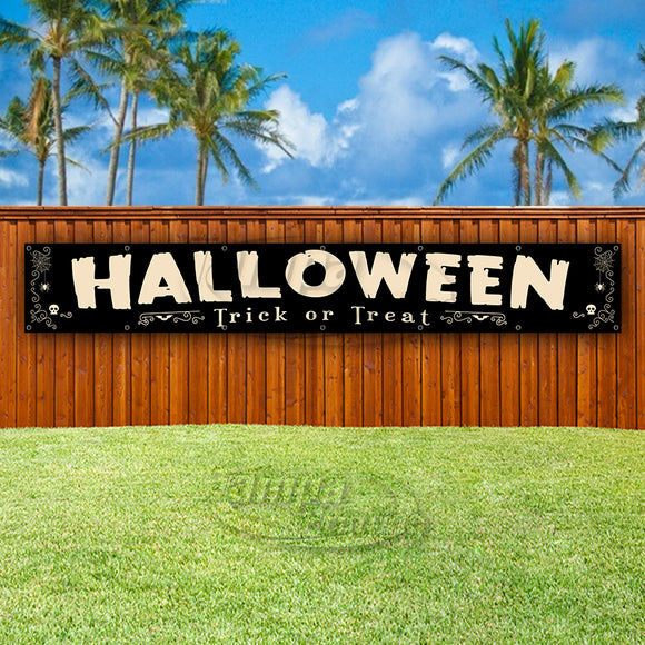 Halloween Trick Or Treat XL Banner