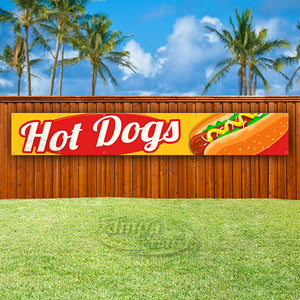 Hot Dogs XL Banner