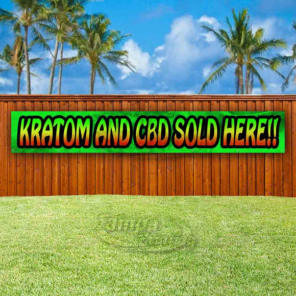 Kratom & CBD Sold Here!! XL Banner