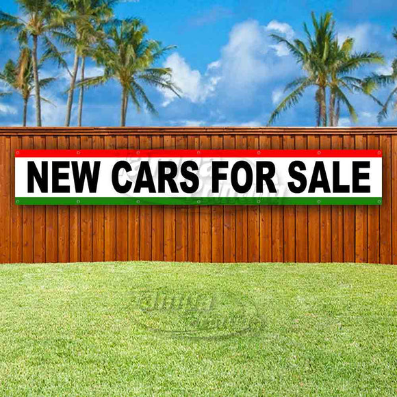 New Cars For Sale XL Banner