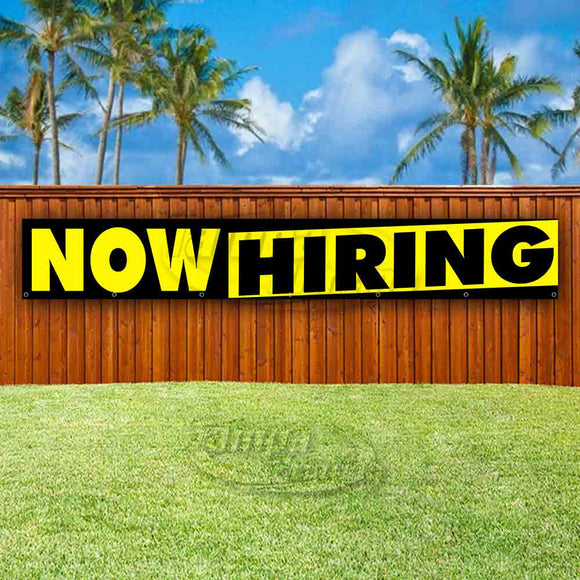 Now Hiring XL Banner