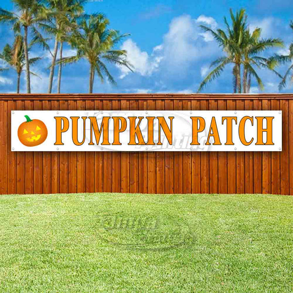 Pumpkin Patch XL Banner