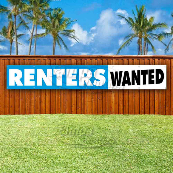 Renters Wanted XL Banner