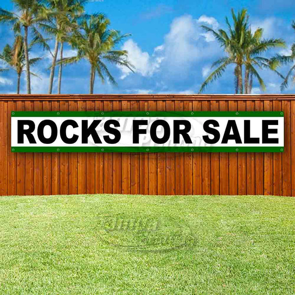 Rocks For Sale XL Banner