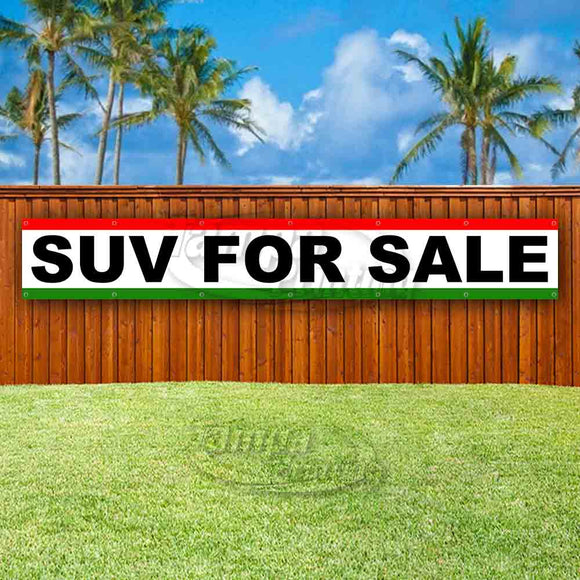 SUV For Sale XL Banner