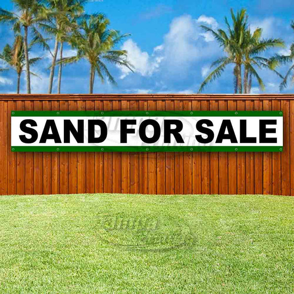 Sand For Sale XL Banner