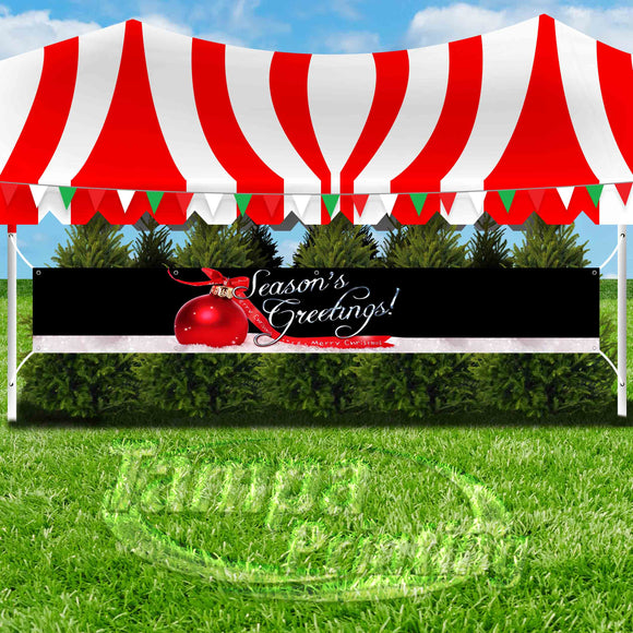 Seasons Greetings XL Banner