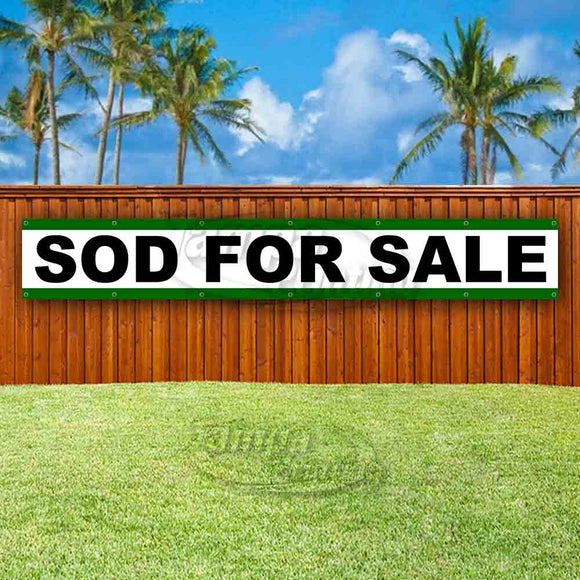 Sod For Sale XL Banner