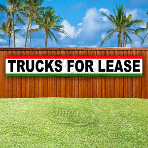 Trucks For Lease XL Banner
