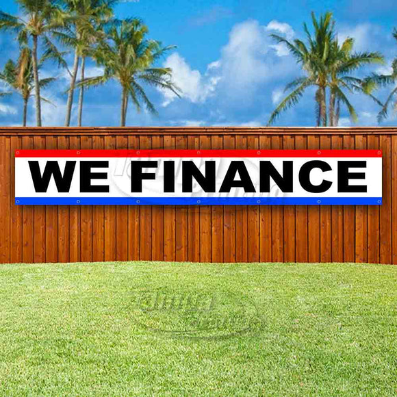 We Finance XL Banner