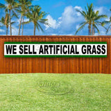 We Sell Artificial Grass XL Banner