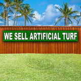 We Sell Artificial Turf XL Banner