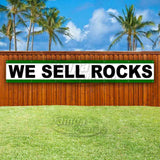 We Sell Rocks XL Banner