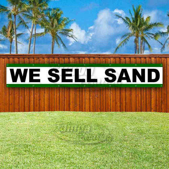 We Sell Sand XL Banner