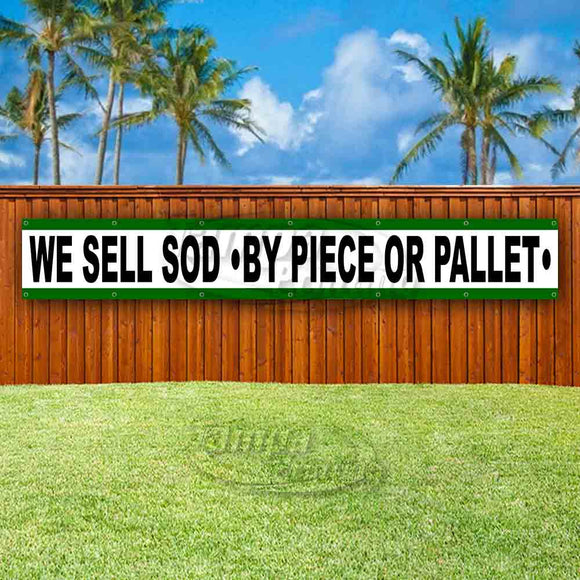 We Sell Sod By Piece Or Pallet XL Banner