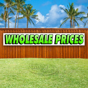 Wholesale Prices XL Banner