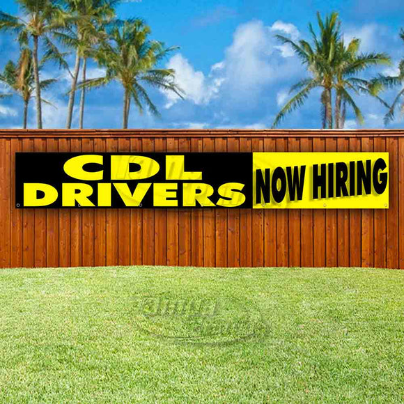 CDL Drivers Now Hiring XL Banner
