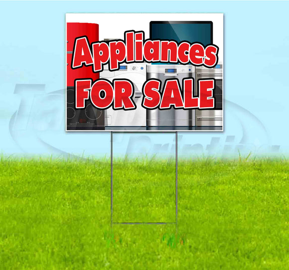 Appliances For Sale Yard Sign