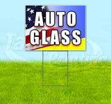 Auto Glass Yard Sign