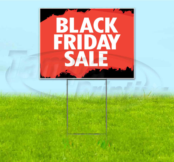 Black Friday Sale Yard Sign