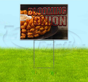 Blooming Onion Yard Sign