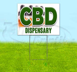 CBD Dispensary Yard Sign