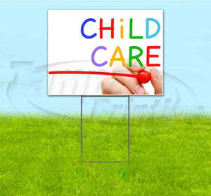 Child Care Yard Sign
