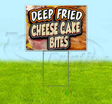 Deep Fried Cheesecake Bites Yard Sign
