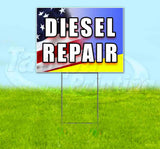 Diesel Repair Yard Sign
