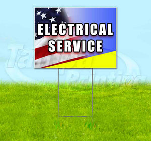 Electrical Service Yard Sign