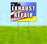 Exhaust Repair Yard Sign