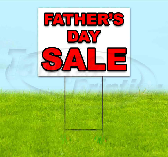 Fathers Day Sale Yard Sign