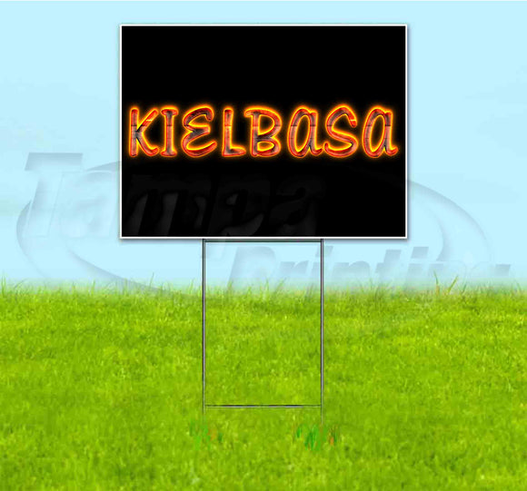 Kielbasa Yard Sign