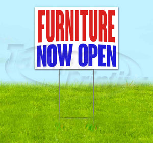 Furniture Now Open Yard Sign