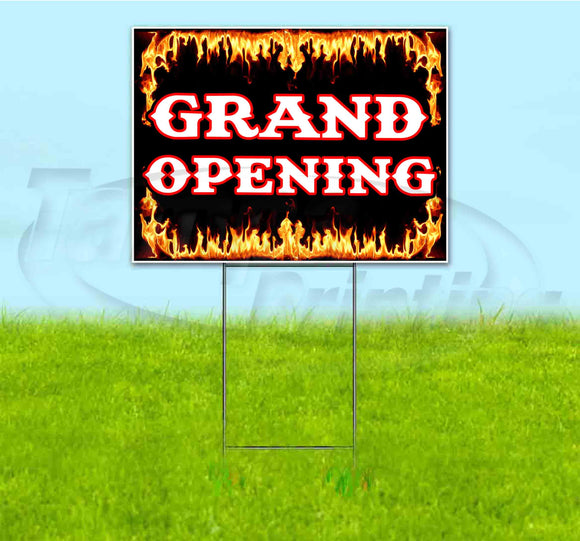 Grand Opening Yard Sign