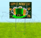 Happy St Patricks Day v2 Yard Sign