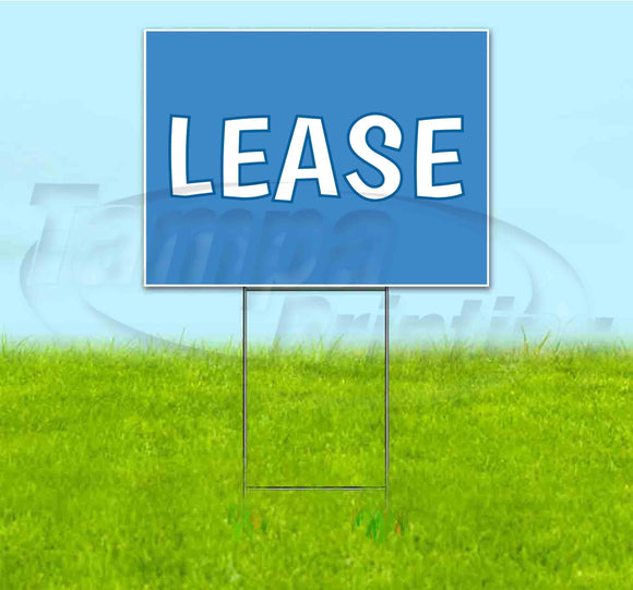 Lease Yard Sign