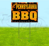 Pennsylvania BBQ Yard Sign